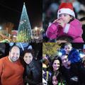 اضاءة شجرة الميلاد في الناصرة 2011