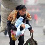 حقا تستحق هذه الأم كل التقدير والاحترام