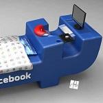 نموذج مقترح لسرير مدمني الفيسبوك