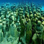 متحف تحت الماء كانكون المكسيك