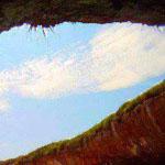 صورة لما يسمى الشاطئ الخفي ، جزر ماريتا على ساحل بويرتو فالارتا ، المكسيك