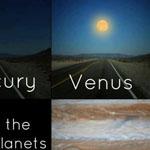 اذا كانت الكواكب قريبة من الارض مثل ق...