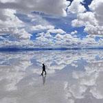 أكبر صحراء ملح في العالم موجودة في بوليفيا