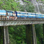 سكة حديد كونكان ساحل كونكان- الهند