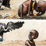 حين يقسو البشر ويحن الحيوان