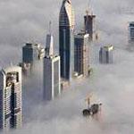صورة مأخوذة من برج خليفه في دبي الأمارات