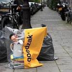 في هولندا ستجد عند القمامة أكياس مكتو...