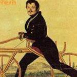أول دراجه صنعت في العالم كانت بلا دوا...