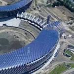 الملعب الاول بالعالم بالطاقة الشمسية فى تايوان