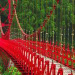 الجسر الاحمر في اليابان