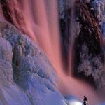 شلالات كيبيك المجمدة، كندا