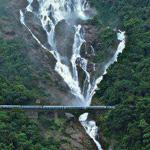 صورة رائعة لشلالات دودساجار في الهند