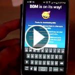 النسخة الرسمية لتطبيق BBM لـ أندرويد وآيفون في الاسواق