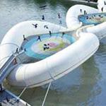 فكرة مبتكرة- تصميم لجسر نطاط على نهر السين في باريس