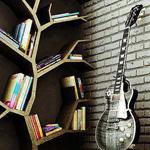 ديكو جميل لمكتبة  على شكل شجرة