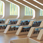 . احدى المكتبات العامة فى النرويج