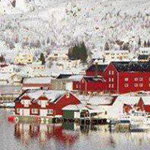 جزيرة سانتا كلوز تاون ارين النرويج