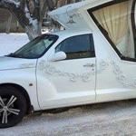 سيارة لحفلات الزفاف في كازخستان