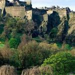 قلعة ادنبرة، اسكتلندا.