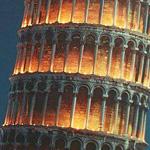 برج بيزا في الليل