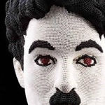 مجسمات لشخصيات مشهورة صُنعت من أعواد ...