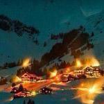 ليالي الشتاء في النمسا