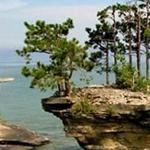 بحيرة هيورون تعتبر من أجمل بحيرات امر...