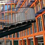 تصميم مذهل لدرج يقع عند مدخل مكاتب في...