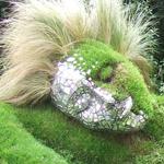 النحت الطبيعي، امرأة العشب