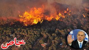عجز اسرائيل في مواجهة الحرائق حجب ثقة عن نتنياهو الذي يؤثر النباح على العرب