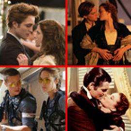 صور رومانسية: اشهر قصص حب ربطت بين فنانين على شاشة السينما