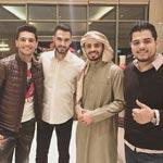صور محمد عساف في تدريبات عرب ايدول مع يعقوب، عمار وامير