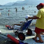 بالصور.. شواطئ لذوي الاحتياجات الخاصة في تركيا