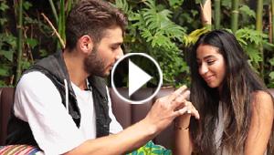 نجم اكس فاكتور اللبناني يطلب يد حبيبته المغربية مباشرةً على الهواء.. بالفيديو