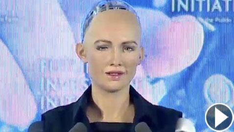 بالفيديو.. أول روبوت في العالم يُمنح النوعية السعودية