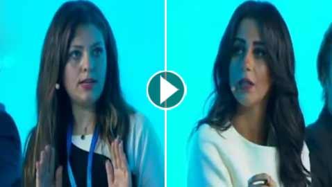 بالفيديو.. مذيعة مصرية تتعرض لموقف محرج وقاس وضيفتها تنسحب