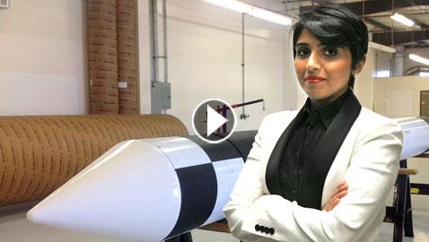 مشاعل الشميمري.. أول فتاة سعودية تعمل في هندسة الصواريخ