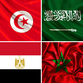 للمرة الأولى.. أربعة منتخبات عربية في كأس العالم