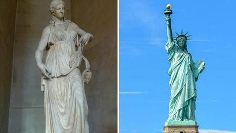 أشهر 5 تماثيل عالمية تمثل المرأة وتجسدها منها تمثال الحرية ونفرتيتي