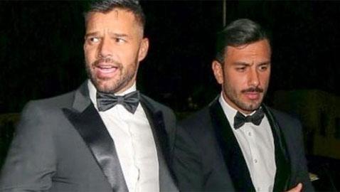 ريكي مارتن لمنتقدي خطيبه السوري بسبب علاقتهما المثلية: (خلص)!