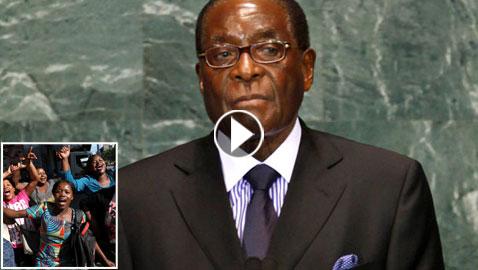 بالفيديو والصور.. فرحة في شوارع زيمبابوي ليلة سقوط موغابي