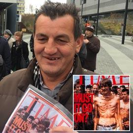 حر ولكن مكسور الخاطر.. في انتظار محاكمة سفاح البوسنة