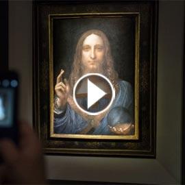 هذه حكاية لوحة ليوناردو دا فينشي التي بيعت بـ 450 مليون دولار