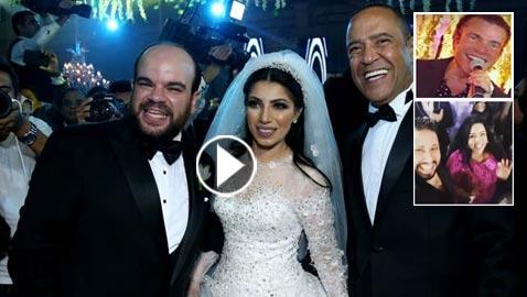 لقطات مثيرة من زفاف (توتا): رقص  شيماء، كشرة اسراء وقميص الهضبة!