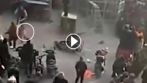 فيديو مروع.. نمر يهرب من القفص ويهاجم الجماهير في السيرك