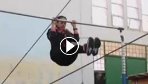بالفيديو..  فتيات ليبيات يبحثن عن التفوق في الرياضة