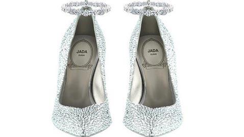 دبي: صور حذاء ألماسي مدهش يعتبر الأول من نوعه في العالم
