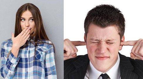 صفير الأنف وصرير الأسنان.. أصوات تصدر عن أجسامنا لتكشف هذه الأمراض!