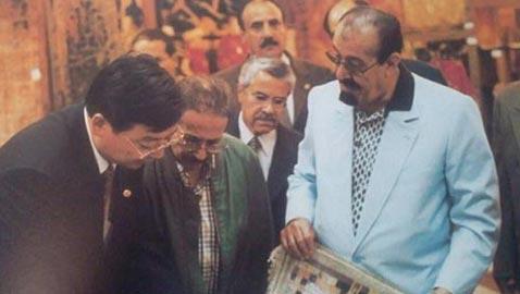 أبرز صور الملك عبد الله بن عبد العزيز بالبدلة والملابس العصرية