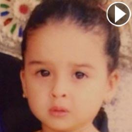 بالصورة: من هي هذه الطفلة التي أصبحت نجمة عربية شهيرة؟
